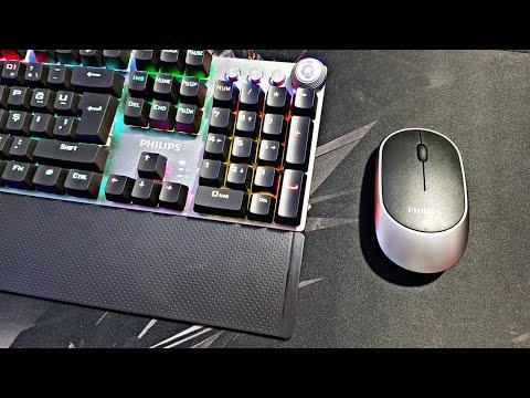 İzlemeden Alma ! Uygun Fiyatlı Philips Spk8614 Mekanik Klavye Ve Spk7314 Kablosuz Mouse