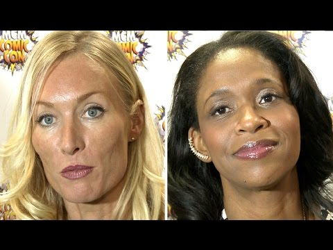 Once Upon A Time Iconic Villains  Merrin Dungey & Victoria Smurfit