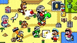 New Super Mario Land - Power-up Overflow