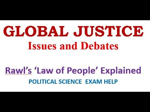 GLOBAL JUSTICE: Issues And Debates