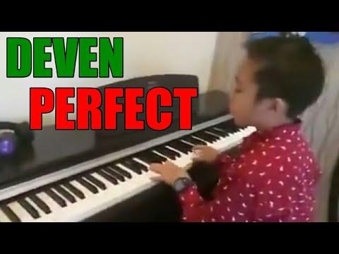 DEVEN - PERFECT (Ed Sheeran) - Indonesian Idol Junior 2018