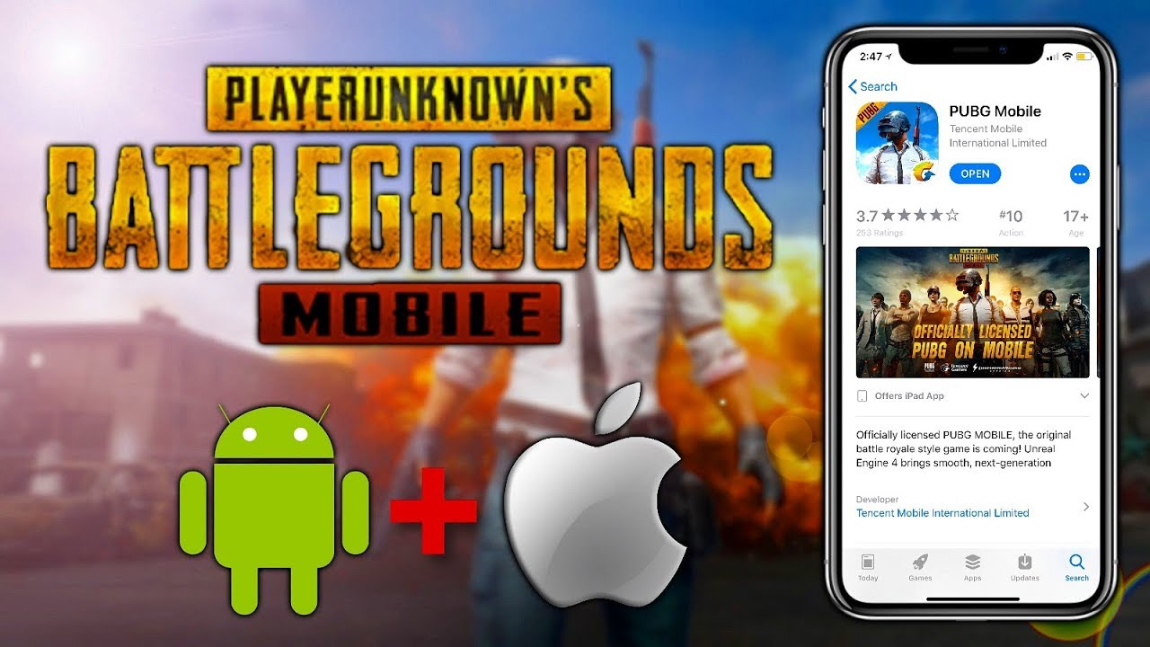 Pubg Mobile English Version: Pubg Mobile English Version For IOS And Android Download