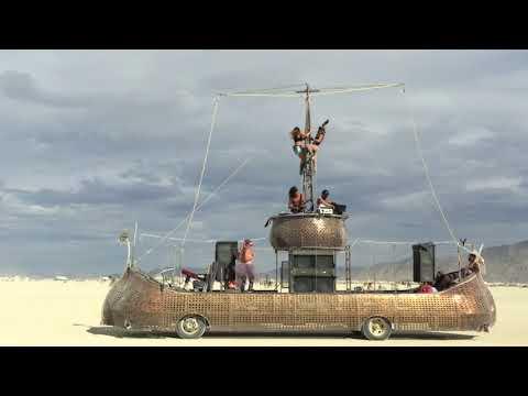Lenny Shreds Burning Man 2016