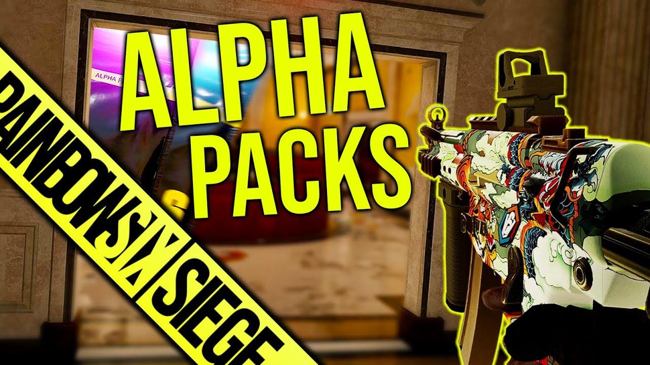 Alpha Packs & Unsinn - Rainbow Six Siege
