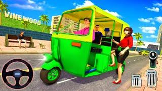 Offroad Tuk Tuk Auto Rickshaw New Driving Games    Tuk Tuk Gadi Game 2021 – Android Gameplay screenshot 5