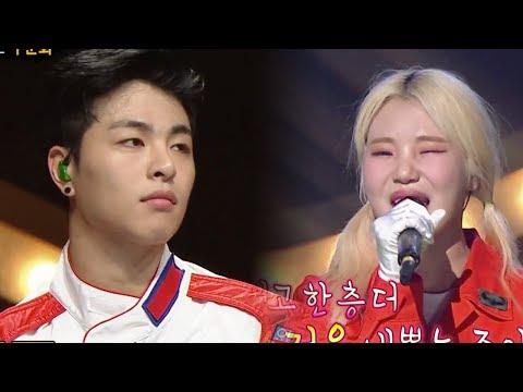 "KooJunHoe (iKON) X JooE (Momoland) - ""I Say Ya You Say Yeah"" Cover [The King of Mask Singer Ep 139]"