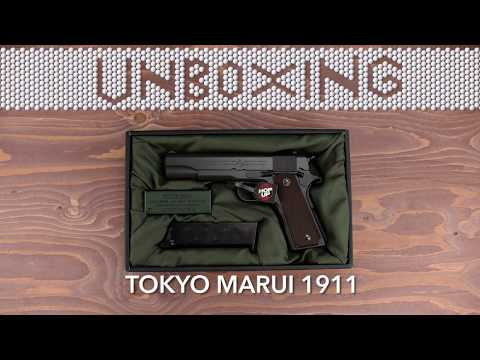 UNBOXING -  TOKYO MARUI M1911A1 COLT GOVERNMENT | AIRSOFT