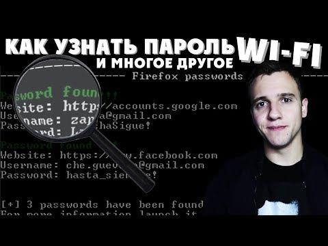 Как узнать пароль от WiFi, ВКОНТАКТЕ и не только