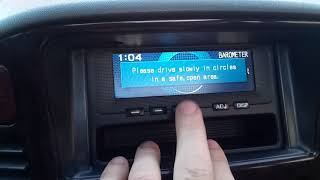Pagero Wagon 3 GDI Бортовой компьютер ч.2