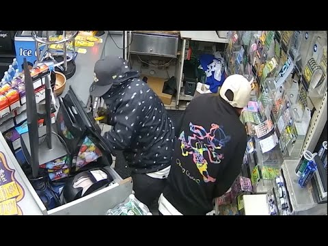 Two Men Steal Cash Registers, Lottery Tickets, Cigarettes In Overnight Spree