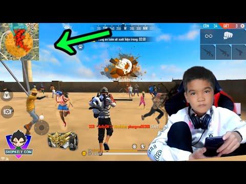 Đội Mũ Huyền Thoại Lên Nóc Xưởng Càn Quét Map 12Kill - Kelly Gaming TV