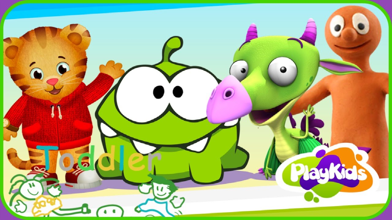 ♡ Learn Math Shapes & Colors ♡ Play Kids Cartoons ♡ Educational App For Baby Toddlers