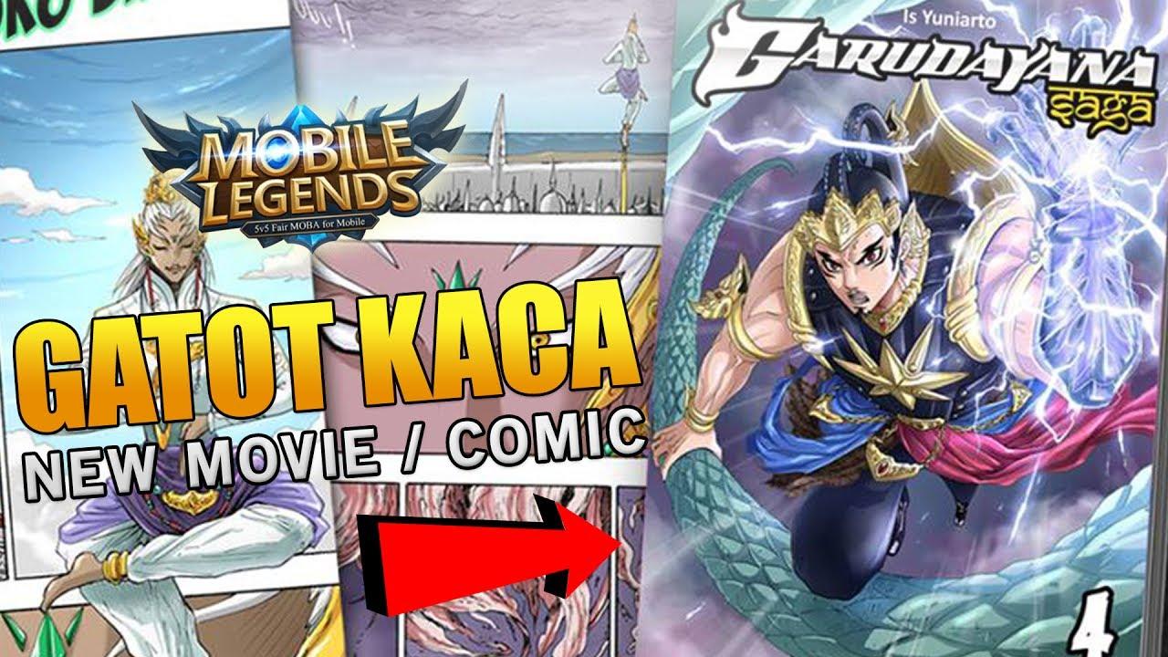 Mobile Legends NEW HERO GATOT KACA MOVIE AND COMIC! (MUST ...