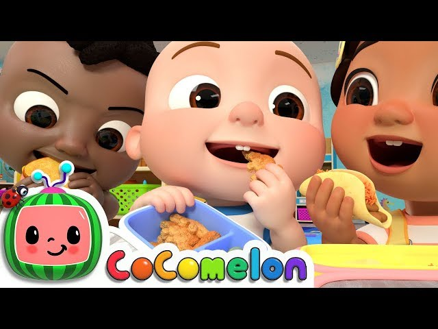 The Lunch Song | CoCoMelon Nursery Rhymes & Kids Songs
