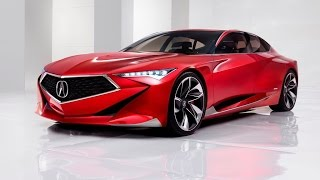 2016 Acura Precision Concept Review Rendered Price Specs Release Date
