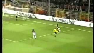 Borussia Dortmund v  AC Milan 4 04 2002 Uefa Cup 2001 2002 1 Half www keepvid com