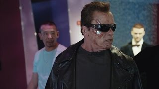 Arnold Schwarzenegger Pranks Unsuspecting Fans as The Terminator