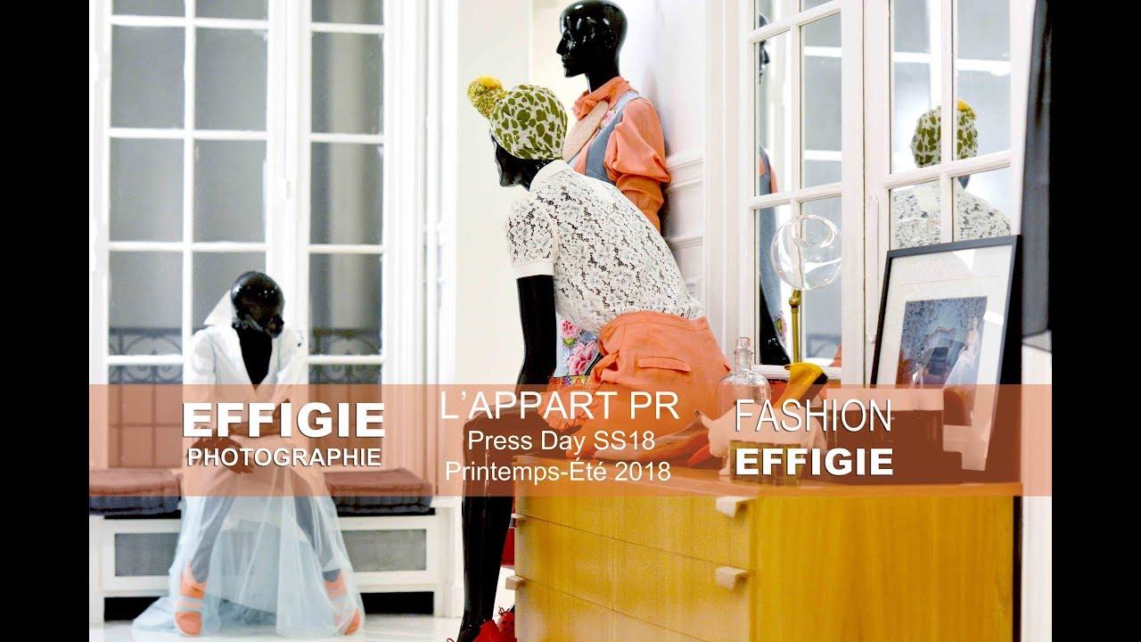 Effigie Photographie Au Coeur Du Press Day De Lu0027 Appart PR SS2018