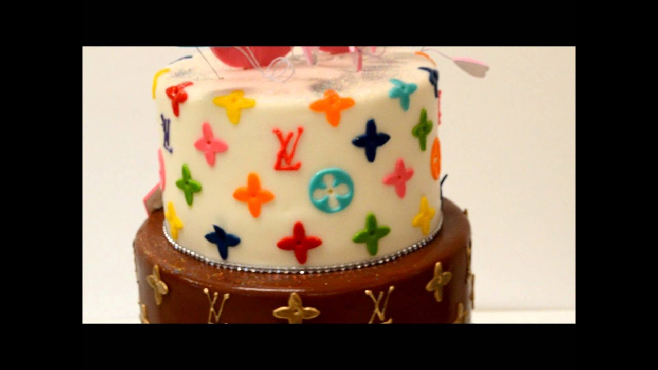 Louis Vuitton Theme Cake Custom Cakes Of Las Vegas Youtube