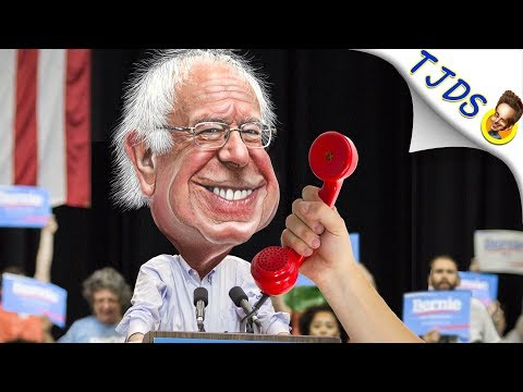 Bernie Attacks Beto & Hangs Up During Interview