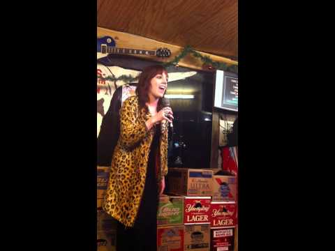 Heather Schaffer-Karaoke in downtown Nashville Xmas Eve