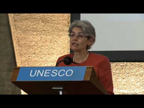 Award Ceremony of the 2015 UNESCO-Japan Prize on ESD