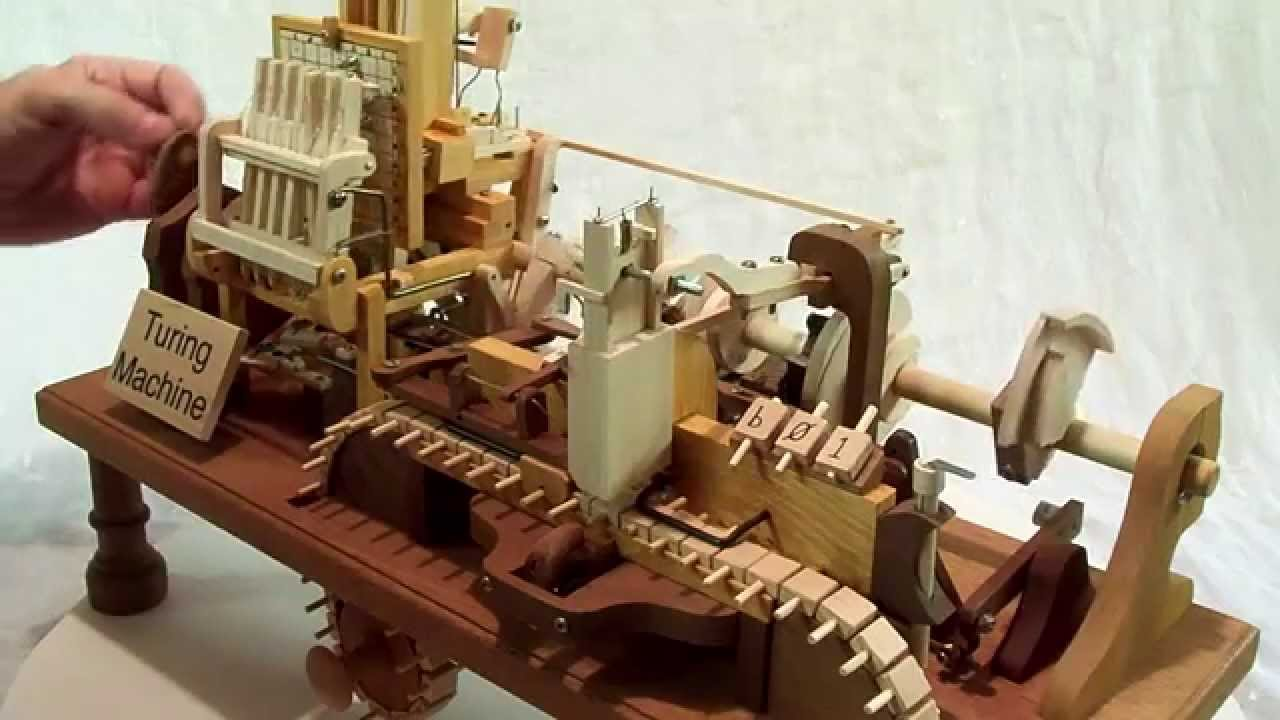 Wooden Adding Machine ~ Mechanical turing machine in wood youtube