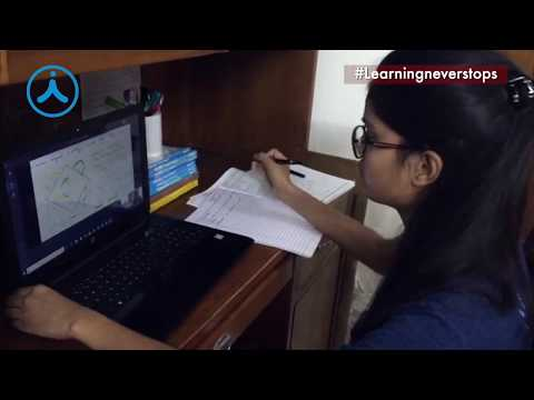 Interactive Live Classes and Online Doubt Clearing Session at Aakash for NEET & JEE Aspirants