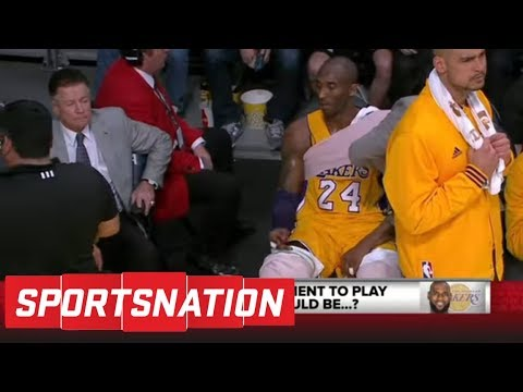 McMenamin: Kobe Bryant ending retirement to join LeBron would be 'pathetic' | SportsNation | ESPN