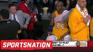 McMenamin: Kobe Bryant ending retirement to join LeBron would be 'pathetic' | SportsNation | ESPN thumbnail