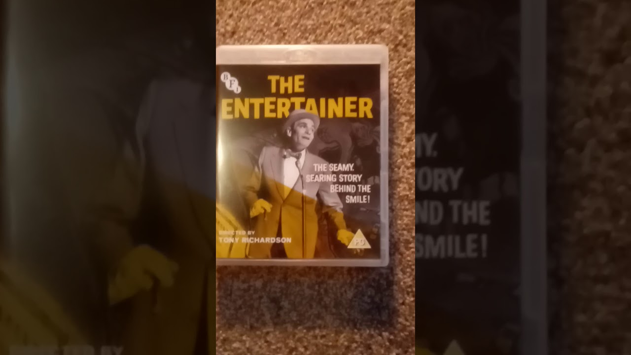 Download Dvd film I watched today on blue Ray. The entertainer. 1960