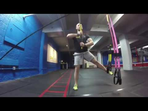 TRX Monday Move - Rip Flagpole with Abducted Lunge
