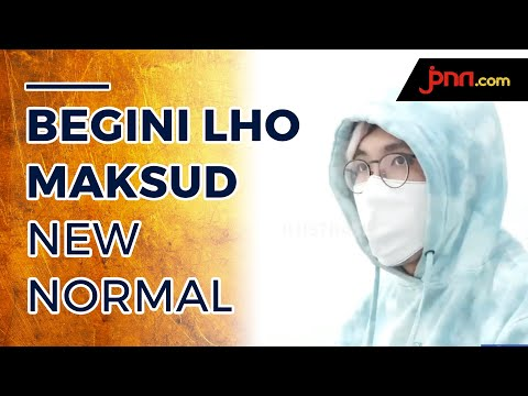 dr.Tirta: Bukan Menyerah, Begini Lo Maksud Jokowi Terapkan New Normal