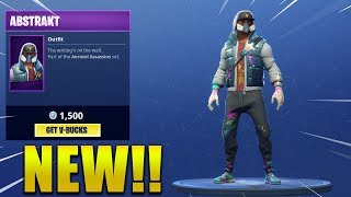 * NEW * ABSTRACT SKIN & RENEGADE ROLES!! Fortnite Battle Royale