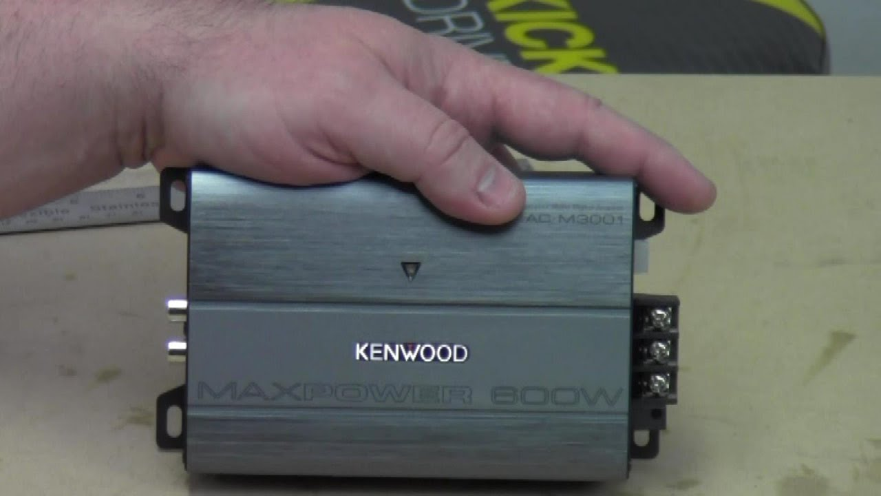 maxresdefault kenwood kac m3001 out of the box youtube Old-Style Kac 5206 Amp at eliteediting.co