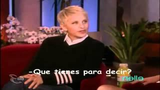 Selena Gomez habla de Justin Bieber en Ellen (Subtitulado en Español Latino)