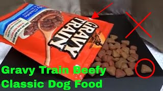✅ How To Use Gravy Train Beefy Classic Dog Food Review