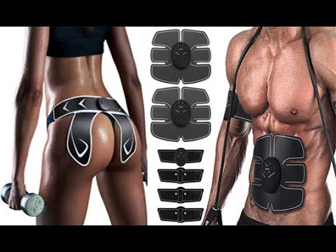 Abdominal Muscle Stimulator / Arm Training EMS Body Shaped Electrical Trainer