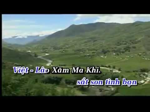 [HD] Karaoke Sắt Son Tình Việt - Lào (Karaoke by Kgmnc)