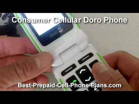 Consumer Cellular Doro Phone