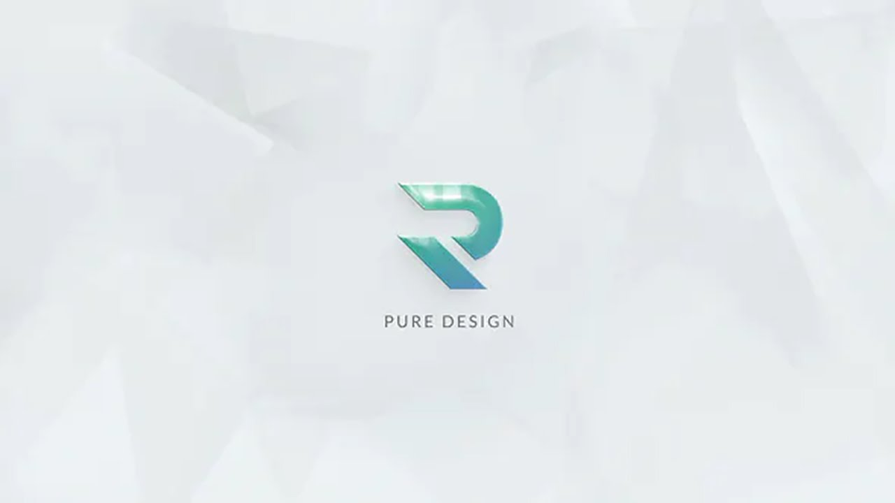Pure / Logo Reveal (After Effects Template) ★ AE Templates