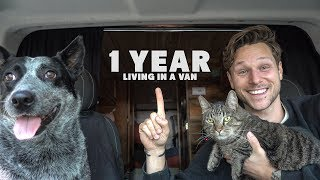 Download Living In A Van Full Time 1 Year Review | Part 1 | Fall and Winter Mp3 and Videos
