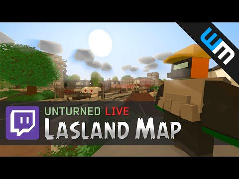 Unturned Lasland Map (Single Player) Livestream Replay