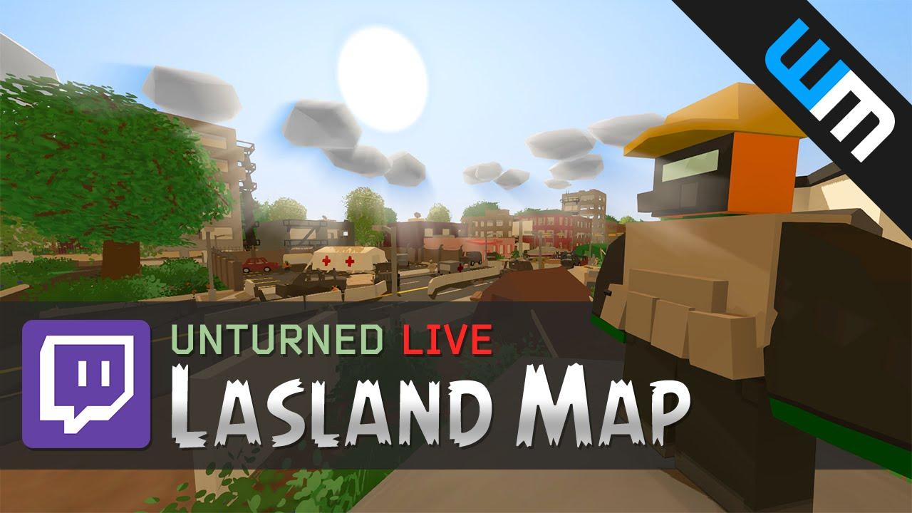 Unturned Metal Sheet Lasland Map Single Player Livestream Replay Youtube