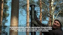 Jita Huussi-Ukko kompostoiva kuivakäymälä