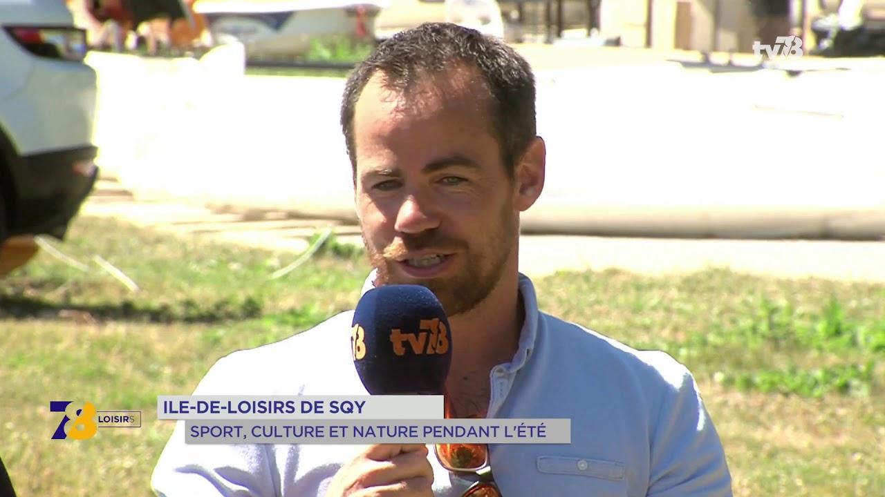 La programmation de l'île de loisirs de Saint-Quentin-en-Yvelines cet été