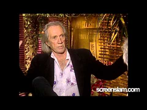 ScreenSlam -- KILL BILL: Interview with David Carradine