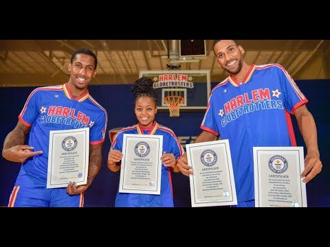 Harlem Globetrotters Set 5 New Guinness World Records!