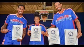 Harlem Globetrotters Set 5 New Guinness World Records!