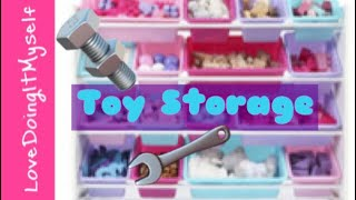 Assembling Simple Toy Storage (Time-lapse)
